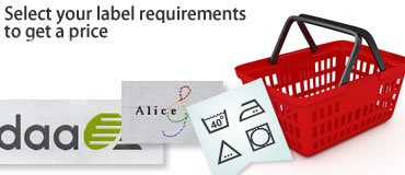 Select your label requirements to get a price and then order and pay for your labels online via our ordering system