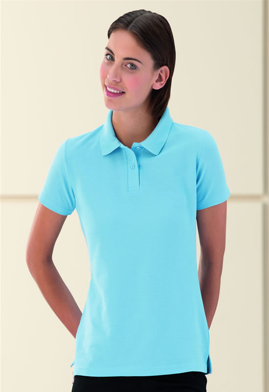 WOMENS 65/35 POLY/COTTON POLO SHIRT