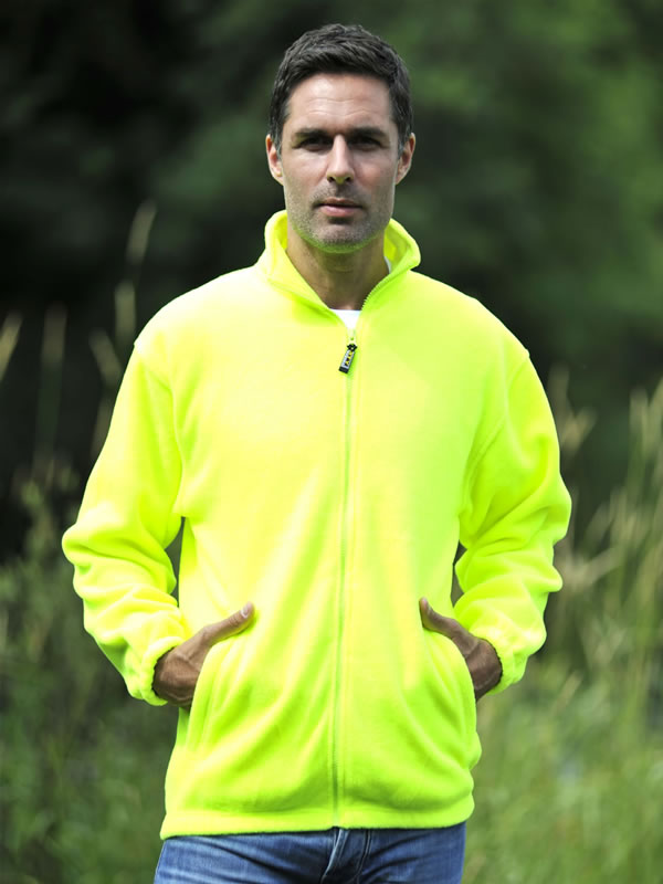 ENHANCED VISIBILITY FULL ZIP FLEECE