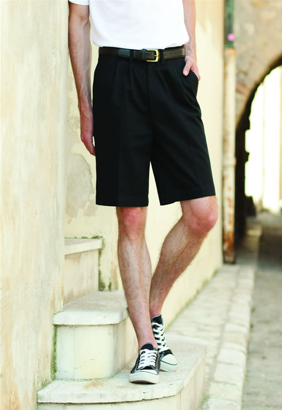MENS TEFLON® COATED CHINO SHORTS