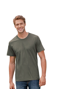 TAGLESS ORGANIC MENS CREW NECK T
