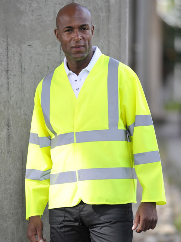 HIGH VISIBILITY MOTORWAY COAT