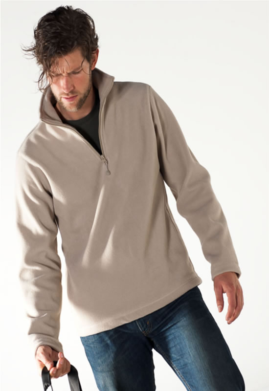 ENZO 1/4 ZIP FLEECE