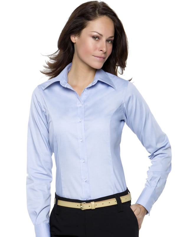CORPORATE OXFORD BLOUSE LONG SLEEVED WOMENS