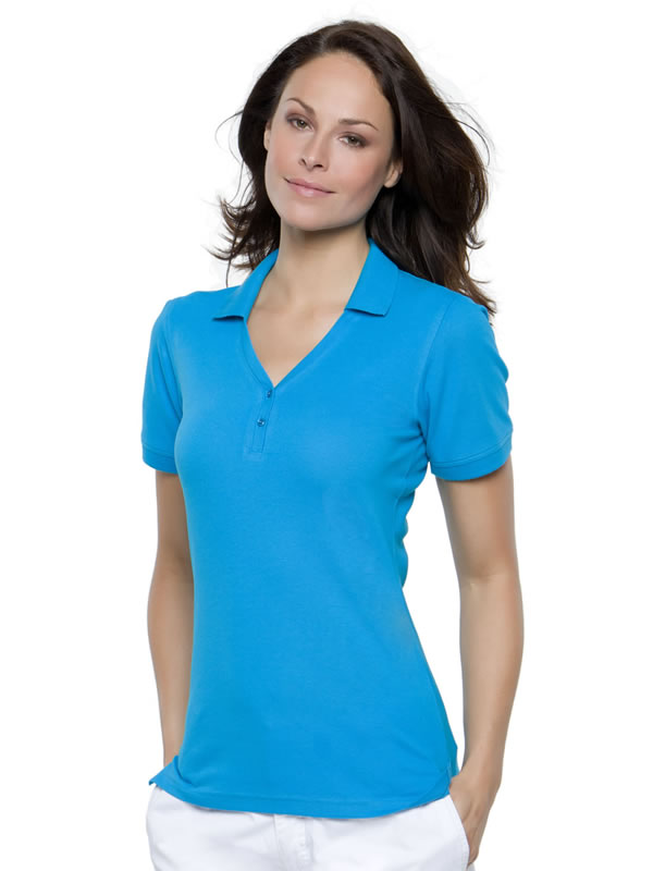 SOPHIA 'V' NECK POLO