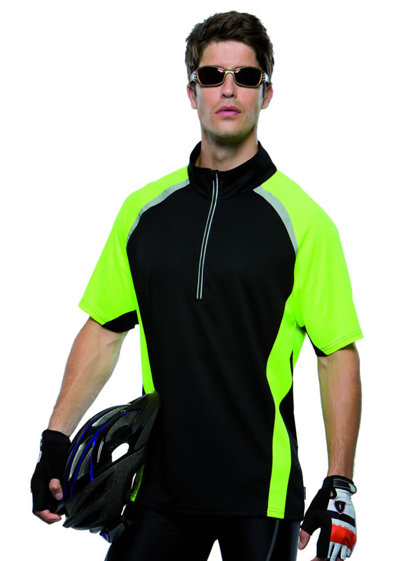 GAMEGEAR® COOLTEX® TOUR ZIP NECK TOP