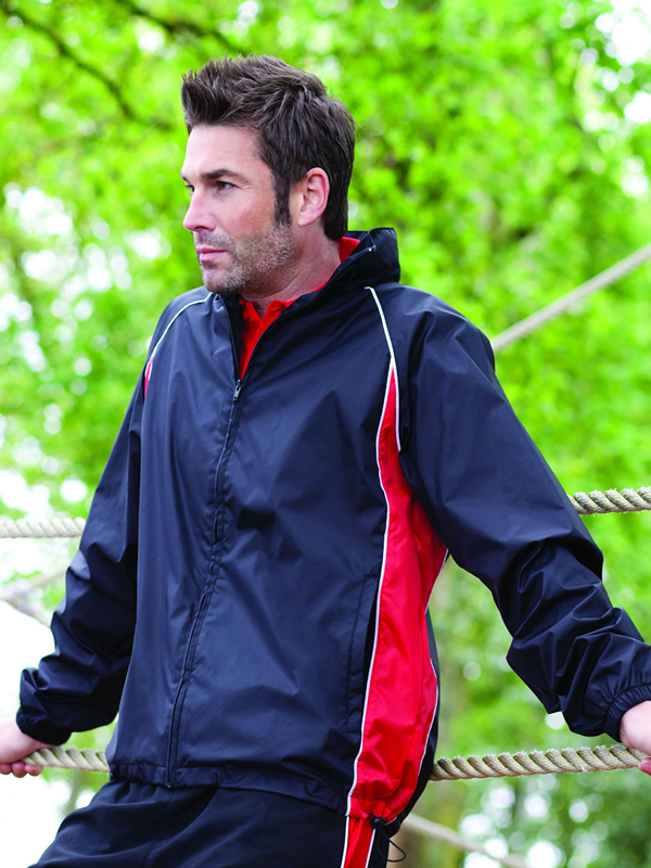 PIPED SHOWERPROOF TRAINING JACKET