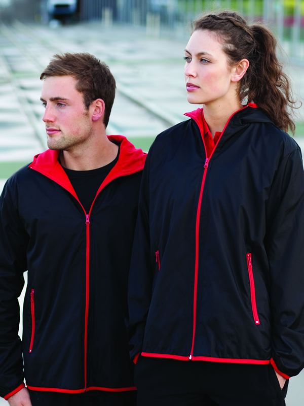 RIP STOP NYLON OUTER JACKETWITH MICROFLEECE LINING