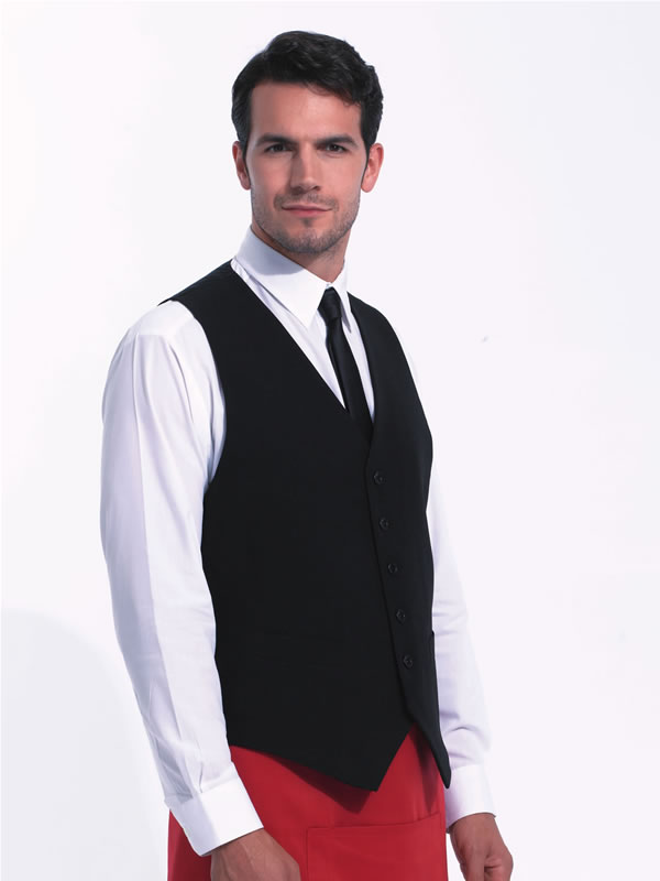 MENS LINED POLYESTER WAISTCOAT