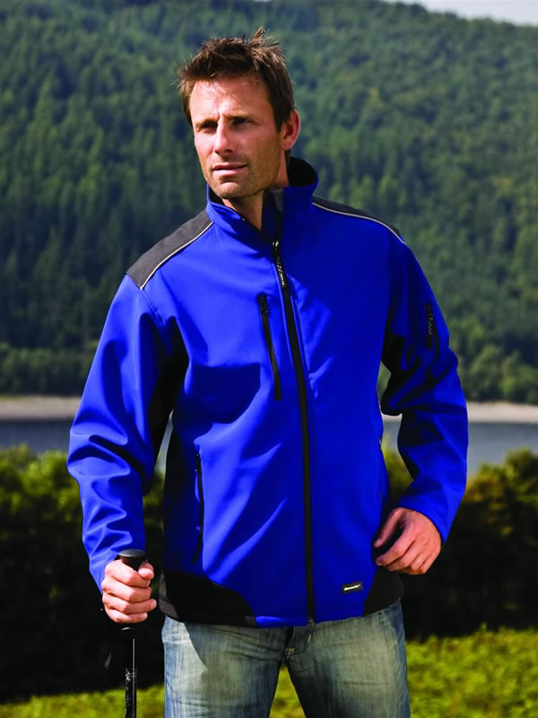 RIPSTOP SOFT SHELL PROFILE JACKET