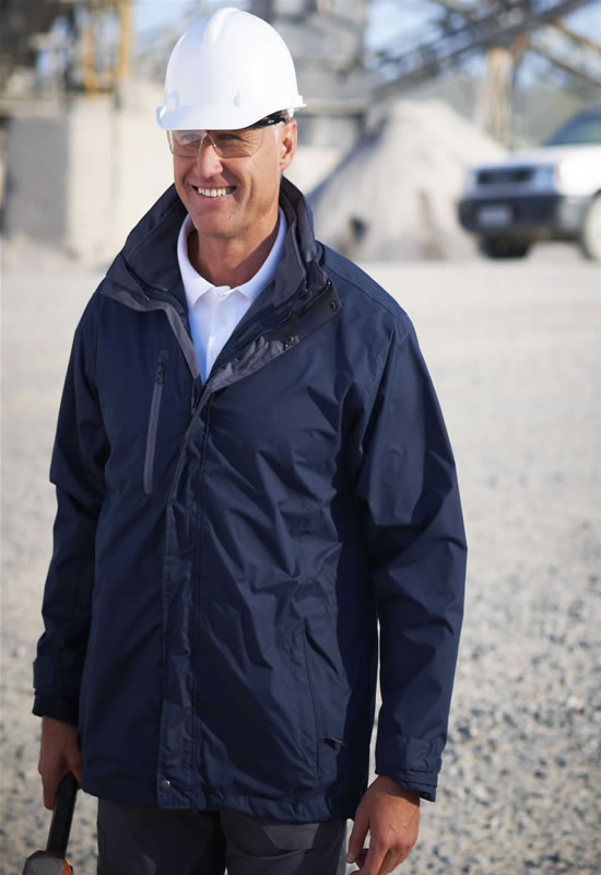 COMPOUND II SOFTSHELL 3 IN 1 JACKET WITH SOFTSHELL INNER