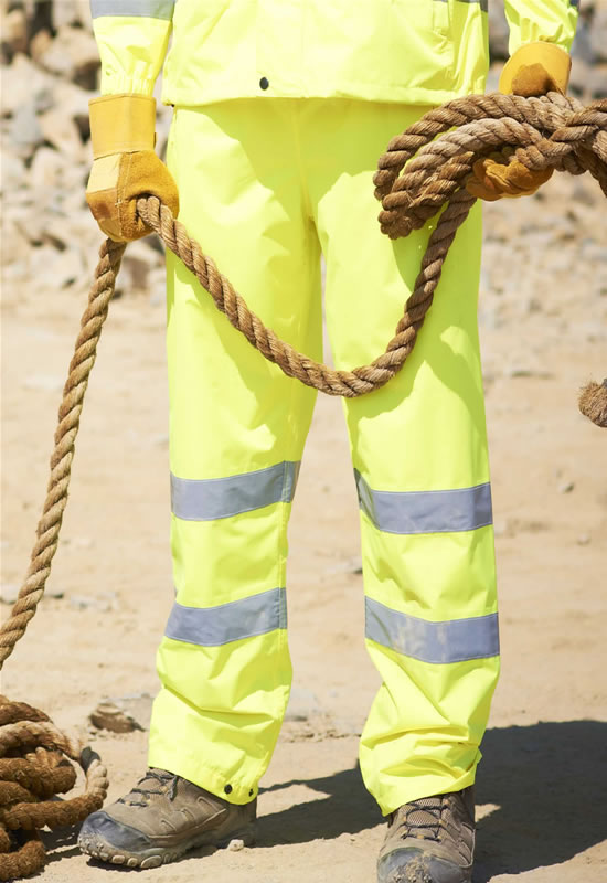 HI-VIS BREATHABLE OVERTROUSERS