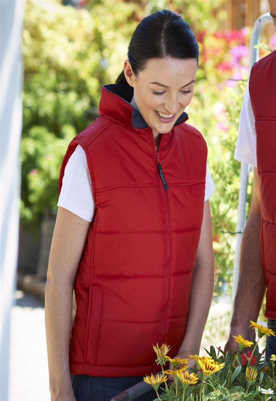 WOMENS STAGE PADDED BODYWARMER