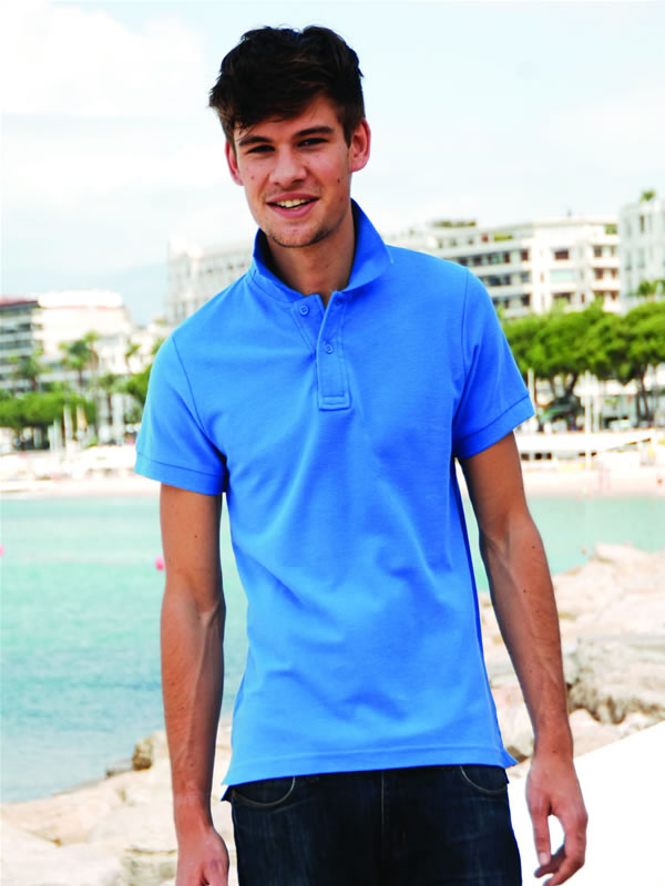 CLUB POLO (WITH STAY-UP COLLAR)