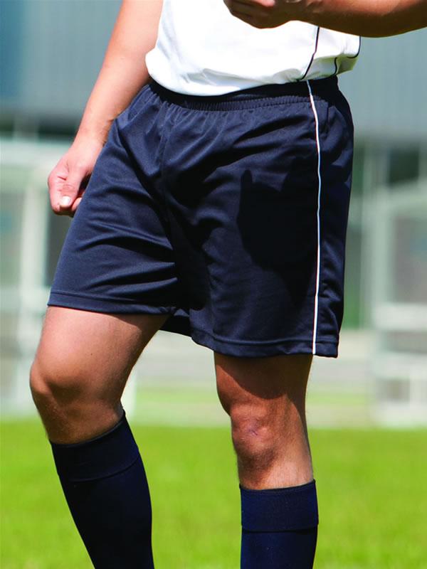 PIPED FOOTBALL SHORTS